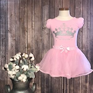 Princess top with tulle skirt 2T